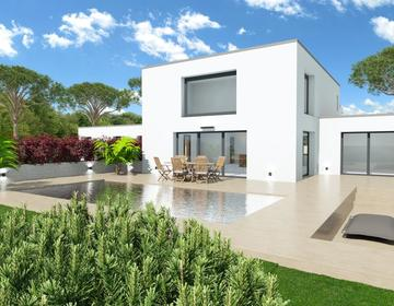 MAISON 90M2 - constructeur de maisons Parentis