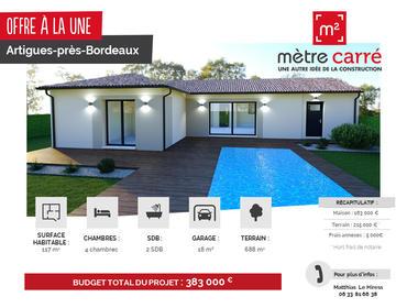 maison 4 chambres - constructeur de maisons Bordeaux