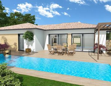 Maison 130 m²+ garage - constructeur de maisons Parentis