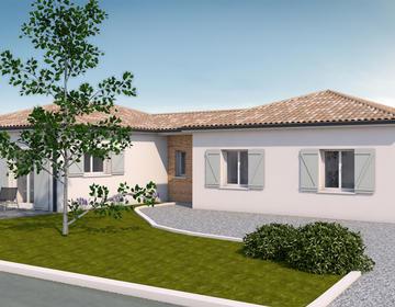 Projet de construction à Bajamont - constructeur de maisons Agen