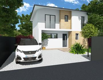 Maison 90m² + balcon - constructeur de maisons Bordeaux