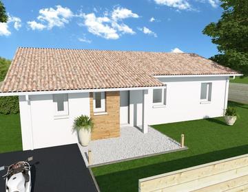 TERRAINS + MAISONS 90m2 - constructeur de maisons Parentis