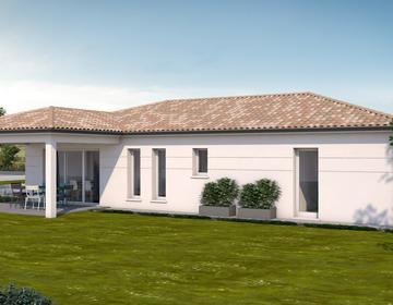 Belle contemporaine de 4 chambres - constructeur de maisons Agen