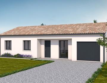 Maison contemporaine 3 chambres - constructeur de maisons Agen