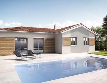 TERRAIN HORS LOTISSEMENT + MAISON 120 M2 - constructeur de maisons Parentis