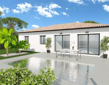 Maison 90m² - Terrain 453m² - constructeur de maisons Bordeaux