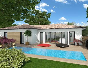 Maison 120m² - Terrain 610m² - constructeur de maisons Bordeaux