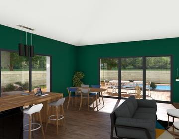 Maison 110m² - Terrain 665m² - constructeur de maisons Bordeaux