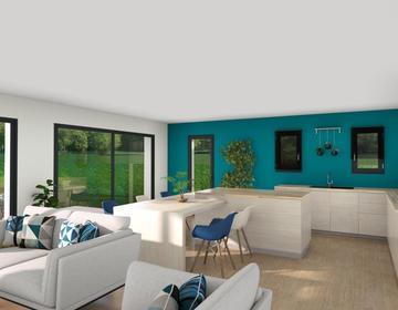 Maison + Terrain 690m² - constructeur de maisons Bordeaux