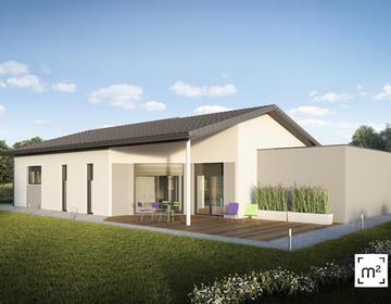 Projet de construction, maison 90 M2 Commensacq - constructeur de maisons Parentis