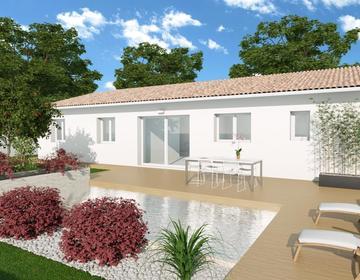 Maison  + Terrain 654m² - constructeur de maisons Bordeaux