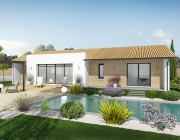 Projet de construction à Casteljaloux - constructeur de maisons Agen