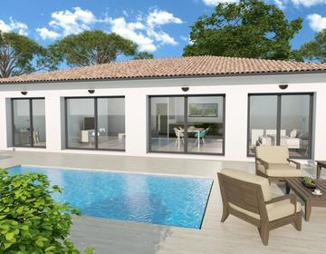 Maison 100m² + terrain 540m² - constructeur de maisons Bordeaux