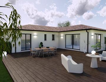 Nouveau projet de construction à Ludon Médoc - constructeur de maisons Bordeaux