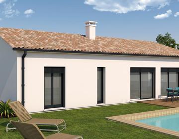 Maison contemporaine coteaux de Saint Hilaire - constructeur de maisons Agen