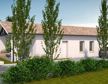 Une maison contemporaine  20 à mns de la rocade - constructeur de maisons Bordeaux
