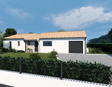 Maison contemporaine - constructeur de maisons Bordeaux