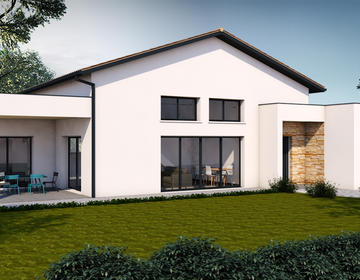 Proche écoles et gare - constructeur de maisons Bordeaux