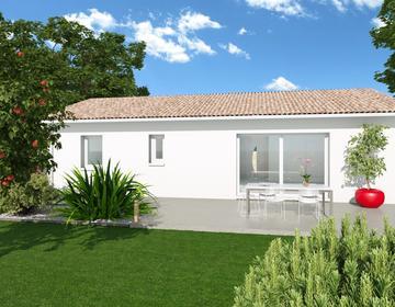 TERRAIN DE 532M2 + MAISON 80M2 - constructeur de maisons Parentis