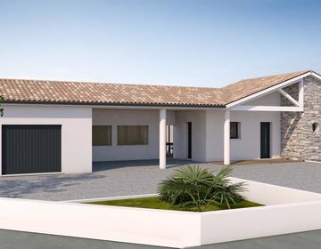 Projet de construction à Castelnau-sur-Gupie - constructeur de maisons Agen