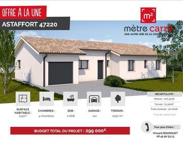 Maison neuve à La Reunion - constructeur de maisons Agen