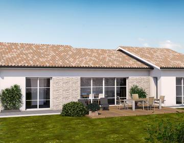 Maison neuve à Damazan - constructeur de maisons Agen