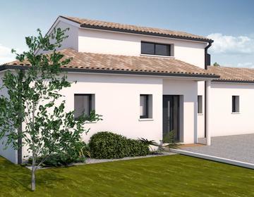 Maison contemporaine 4ch 140 m² - constructeur de maisons Agen
