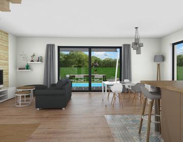 Nouveau à Cestas ! Maison 4 chambres et garage - constructeur de maisons Bordeaux