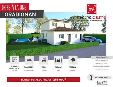 GRADIGNAN - constructeur de maisons Bordeaux