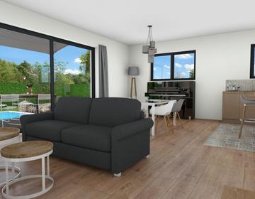 Villenave d'O. maison 100 m² 4 chambres - constructeur de maisons Bordeaux