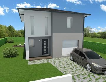 Projet CENON proche TRAM - constructeur de maisons Bordeaux