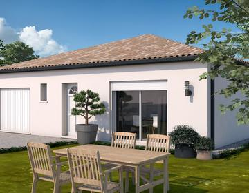 Maison T4 avec garage - constructeur de maisons Toulouse
