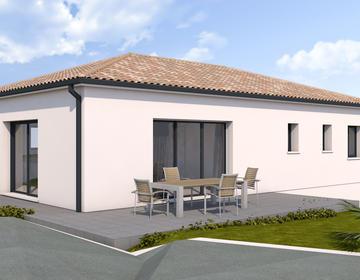 Projet contemporain - constructeur de maisons Toulouse