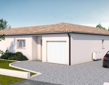 Maison neuve avec grand terrain Sainte Colombe - constructeur de maisons Agen
