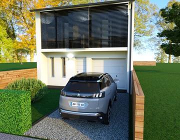 Spécial investisseur en zone de défiscalisation 2 Maisons 3 chambres - constructeur de maisons Bordeaux
