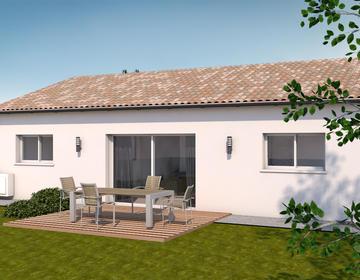 maison 4 pièces 86 m² - constructeur de maisons Toulouse