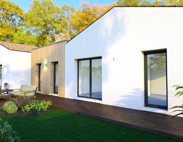 Maison neuve 120m² - Terrain 800m² - constructeur de maisons Bordeaux