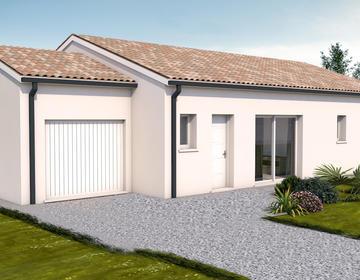 Au cœur des vignes - Maison neuve 120m² - Terrain 1444m² - constructeur de maisons Bordeaux