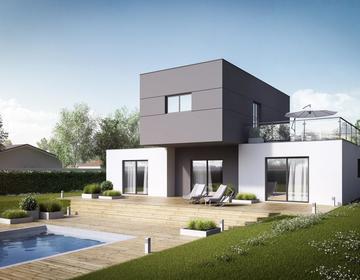 Maison 5 pièces Rt 2012 - constructeur de maisons Toulouse