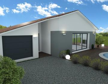 Maison 4 chambres à Pessac - constructeur de maisons Bordeaux