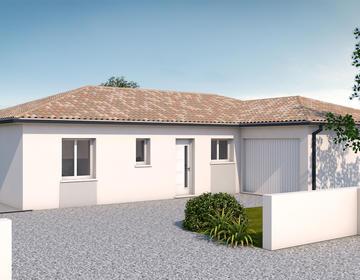 Projet plain pied - constructeur de maisons Toulouse