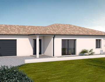 Maison T5 - constructeur de maisons Toulouse