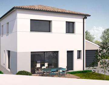 Maison à Etage T5 - constructeur de maisons Toulouse