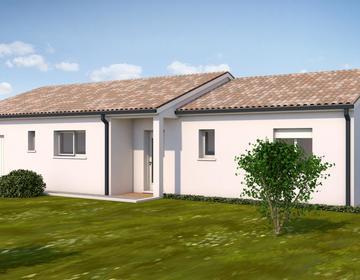 Maison T4 avec garge - constructeur de maisons Toulouse
