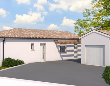 Projet maison T3+garage indépendant - constructeur de maisons Toulouse