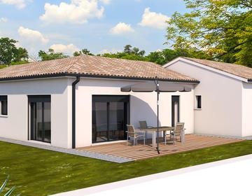 Maison neuve 4 pièces - constructeur de maisons Toulouse