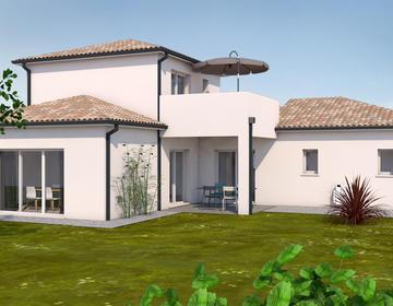 Maison contemporaine - constructeur de maisons Toulouse