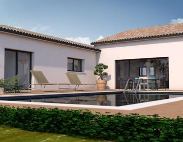 Maison 6 pièces à Pibrac - constructeur de maisons Toulouse