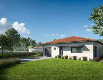 Maison contemporaine 3ch 100m² - constructeur de maisons Agen