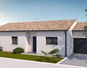 Maison T4 Plain pied - constructeur de maisons Toulouse